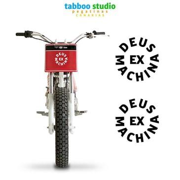 Adesivi moto Deus Ex Machina