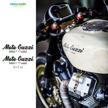 Moto Guzzi tank stickers kit