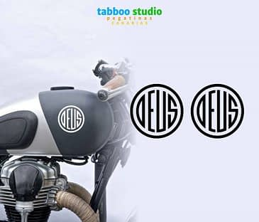 Stickers serbatoio Deus Ex Machina