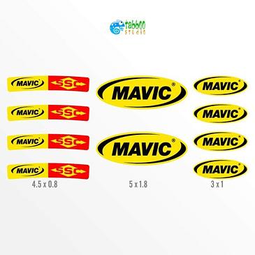 Mavic SSC Stickers